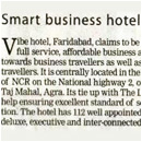 Smart business hotels
